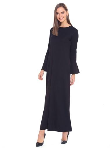 LC WAIKIKI Kolları Volanlı Uzun Elbise